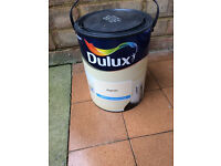 Dulux Magnolia Matt paint for wall and celling.
