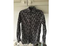 Jäger Black Floral Shirt