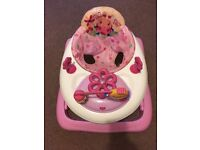Bright starts baby walker. Lights and sounds