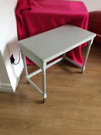 Card table, childs desk, occasional table shabby chic