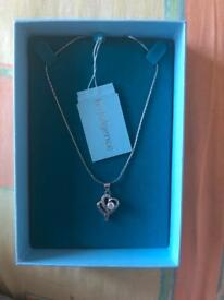 Indulge silver necklace