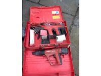 HILTI DX A 40 AND 450 fixing gun