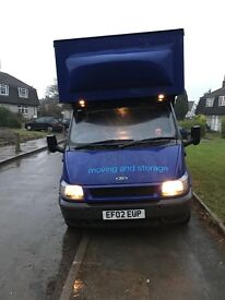 Ford transit Luton in perfect condition for the age