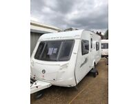 swift charsima 550 2010 4 berth fixed bed with motor mover
