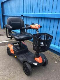 2014 Invacare colibri mobility scooter with 3 months warranty