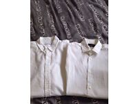 2x Zara man shirts