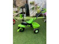 Little green tricycle
