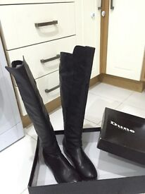 Size 5 Dune Geniue Leather Boots