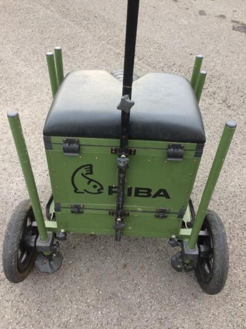 Riba Fishing Seat Box Trolley | in Blackley, Manchester | Gumtree
