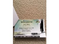 3 x Paul Simon Tickets Hyde Park 15th July - General Admission