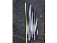 Stainless steel bars in various length