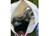 Golf Clubs plus trolley