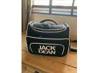 Black jack brown barber bag