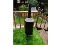 Vintage cast iron shed/patio heater