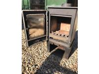 5kw defra multi fuel wood burner