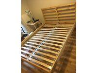 Ikea Tarva double bed frame