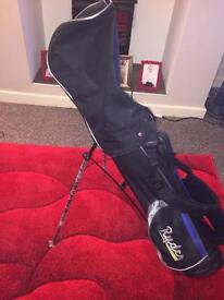 RYDER ROOKIE GOLF SET ALL NEW EXCEPT 1 CLUB, includes balls and tees