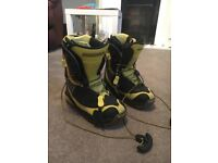 Salomon custom fit 3D boots