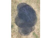 24 Netfloat Pond interlocking Net Rings - Guard Your Pond Against Predators