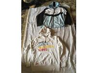 Mens 2 items Nike Hoodies and Nike hooded zip up UK XL used Good condition £12 both