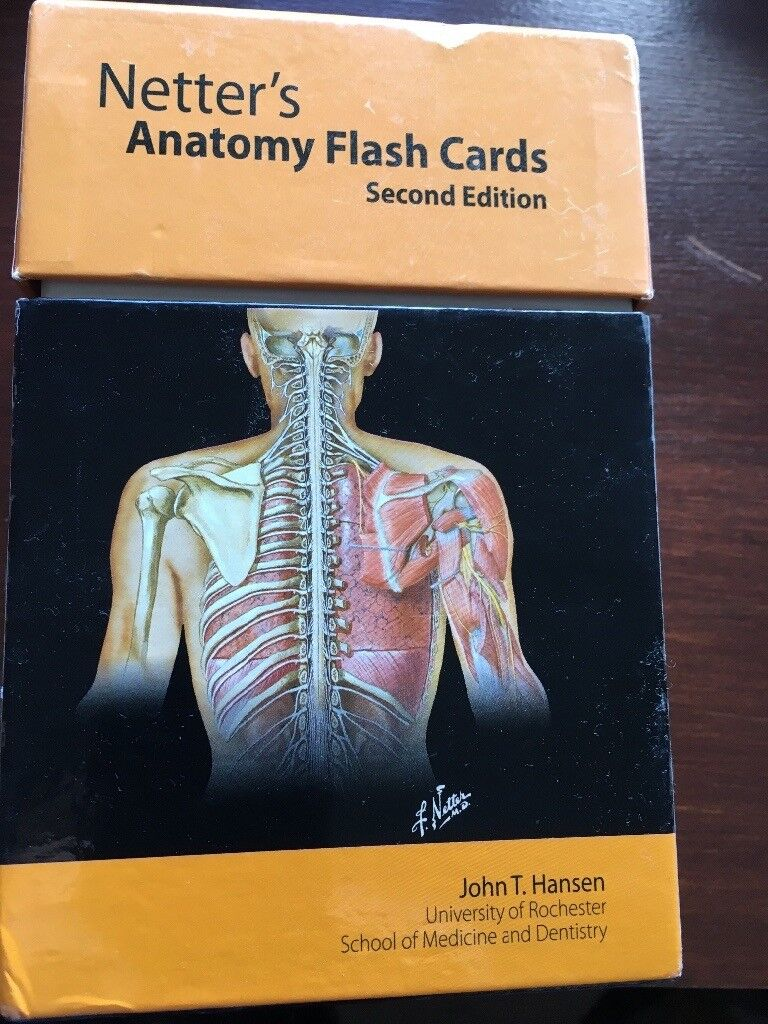 Netters Anatomy Flash Cards In Dundee Gumtree