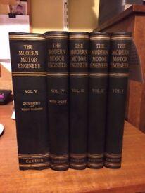 The Modern Motor Engineer Books