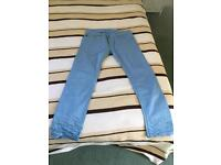 Diesel regular slim tapered jeans for sale