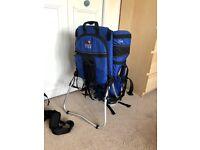 Kelty framed back carrier for baby/child