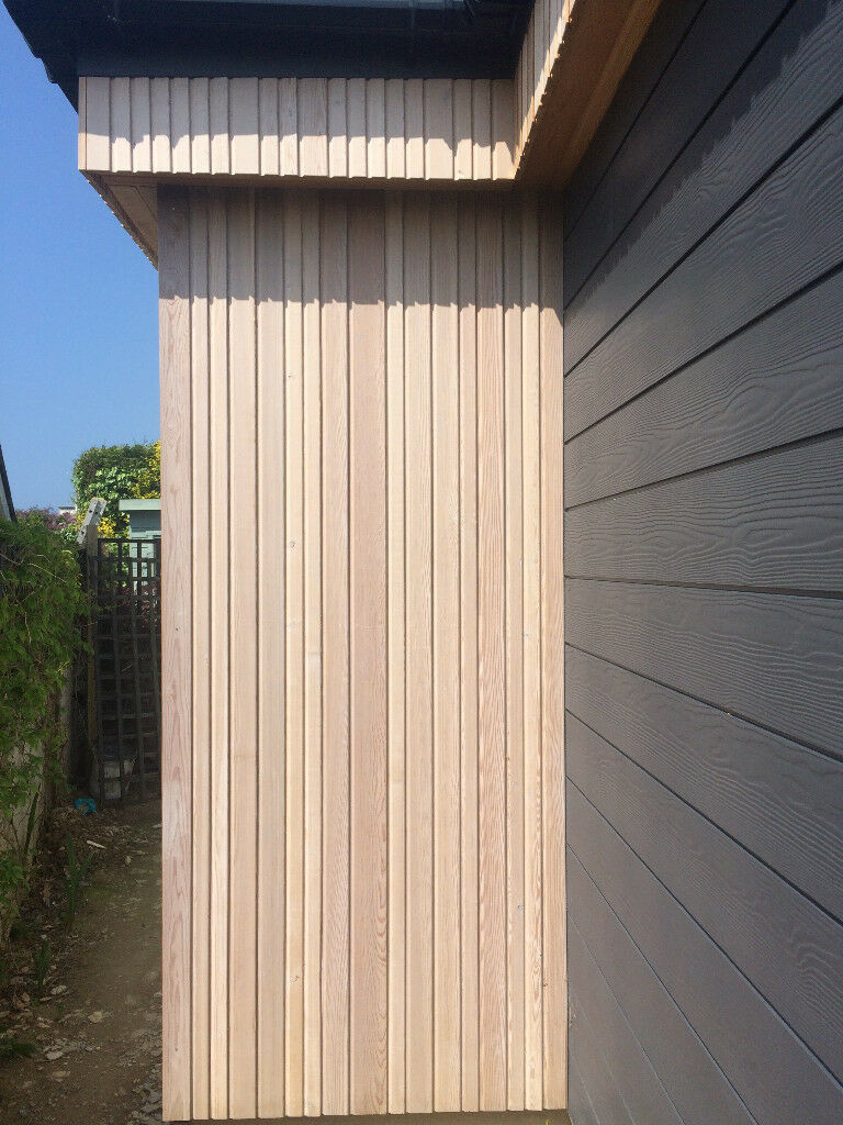 norclad siberian larch cladding in newquay cornwall. Black Bedroom Furniture Sets. Home Design Ideas