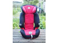 Britax high-backed booster seat. Good condition. Not crashed!