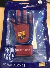 Official Barcelona goalie gloves