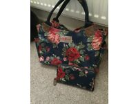 Much sort after cath kidson bag and purse