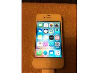 iPhone 4S, 16GB, white colour, faulty WIFI