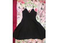 Women black dress size 12