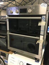 Hotpoint DU4 541 IX Electric Built-Under Double Oven - Black