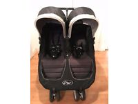 Baby Mini Jogger Double Buggy with Raincover - Excellent Condition!!