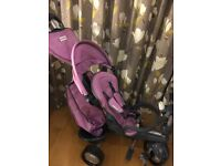 SMARTRIKE/USED TWICE/SUITABLE 6MONTHS-3 YEARS/RECLINES/IMMACULATE CLEAN CONDITION