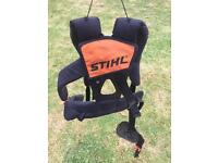 STIHL STRIMMER HARNESS- GOOD USED CONDITION