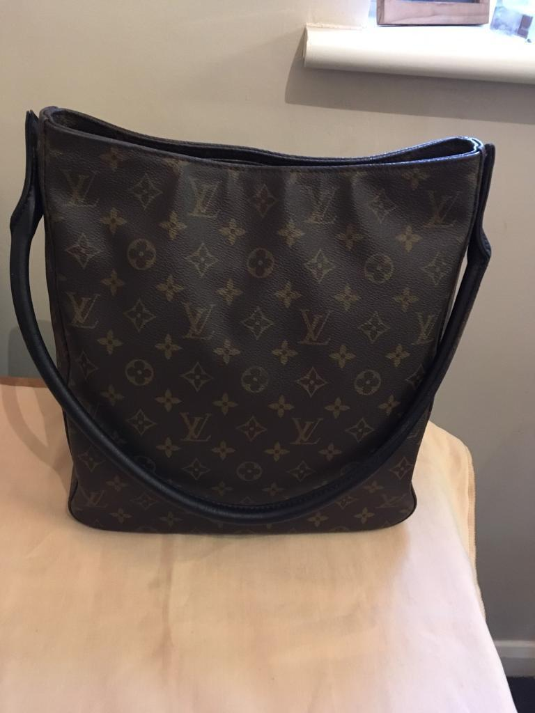 0e56ac048856 Authentic Louis Vuitton Looping Bag GM size