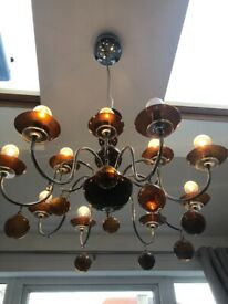 Vintage style chandeliers x 2