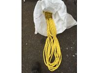 Leaded anchor rope