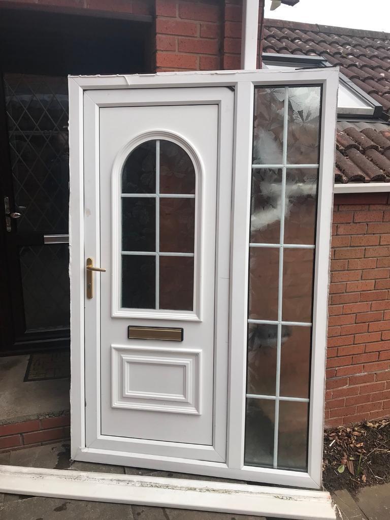 White Upvc Front Door Side Panel In Kingswinford West Midlands