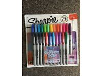 Sharpie Pens 24ct Electro Pop