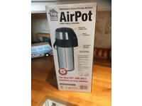 Airpot 5L hot water drinks dispenser- used once RRP £45