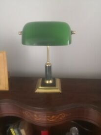 Bankers Lamp (needs rewired)