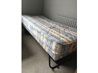 Fold up trundle bed in vgc for sale