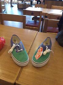 Ladies Vans plimsoles £15 (sizes 4,5 & 6),Ladies Ralph Lauren shoes £20 (size 4)