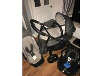 Icandy truffle complete pram