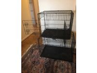Dog crate - collapsible pet crates