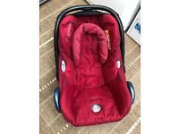 Maxi Cosi Baby car seat with bugaboo adaptors